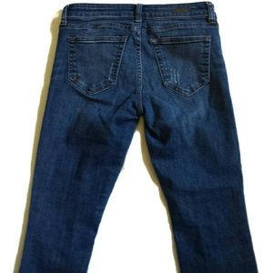 Kut from the Kloth Jeans - Kut from the Kloth Distressed Raw Cut Crop Jeans 2